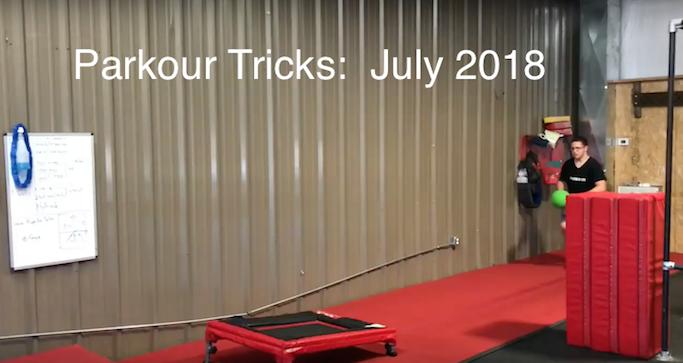 Parkour Tricks: July 2018